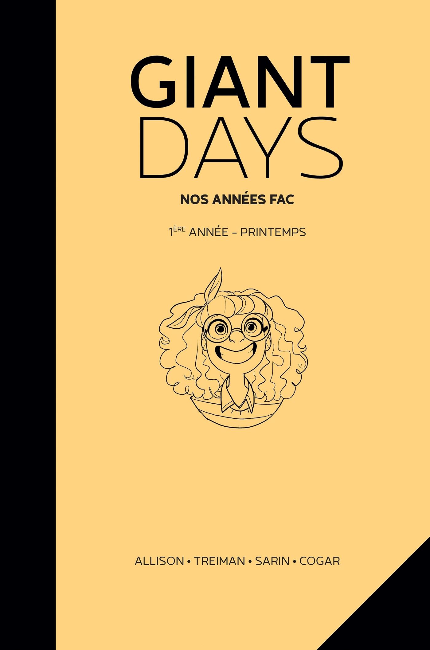 GIANT DAYS - T03 - GIANT DAYS - PRINTEMPS