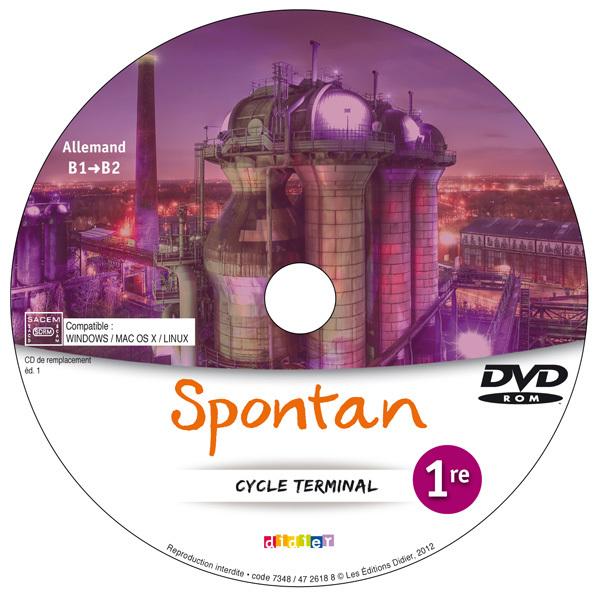 SPONTAN 1RE/TLE - B1/B2 - 2 DVD-ROM DE REMPLACEMENT