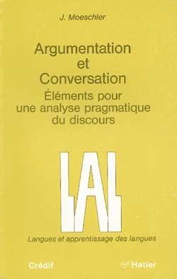 ARGUMENTATION ET CONVERSATION - LIVRE