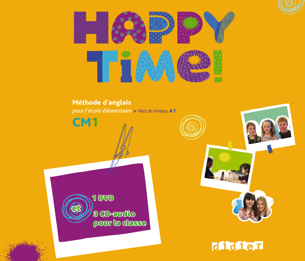 HAPPY TIME CM1 - COFFRET - CD AUDIO + DVD CLASSE