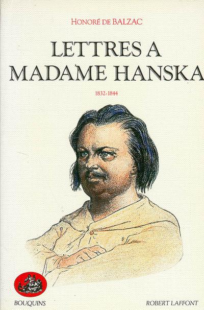 LETTRES A MADAME HANSKA - TOME 1 - VOL01