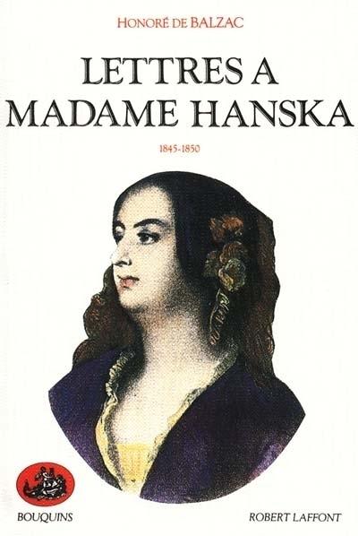 LETTRES A MADAME HANSKA - TOME 2 - VOL02