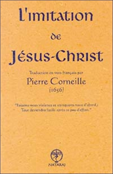 IMITATION DE JESUS-CHRIST - TRAD. CORNEILLE