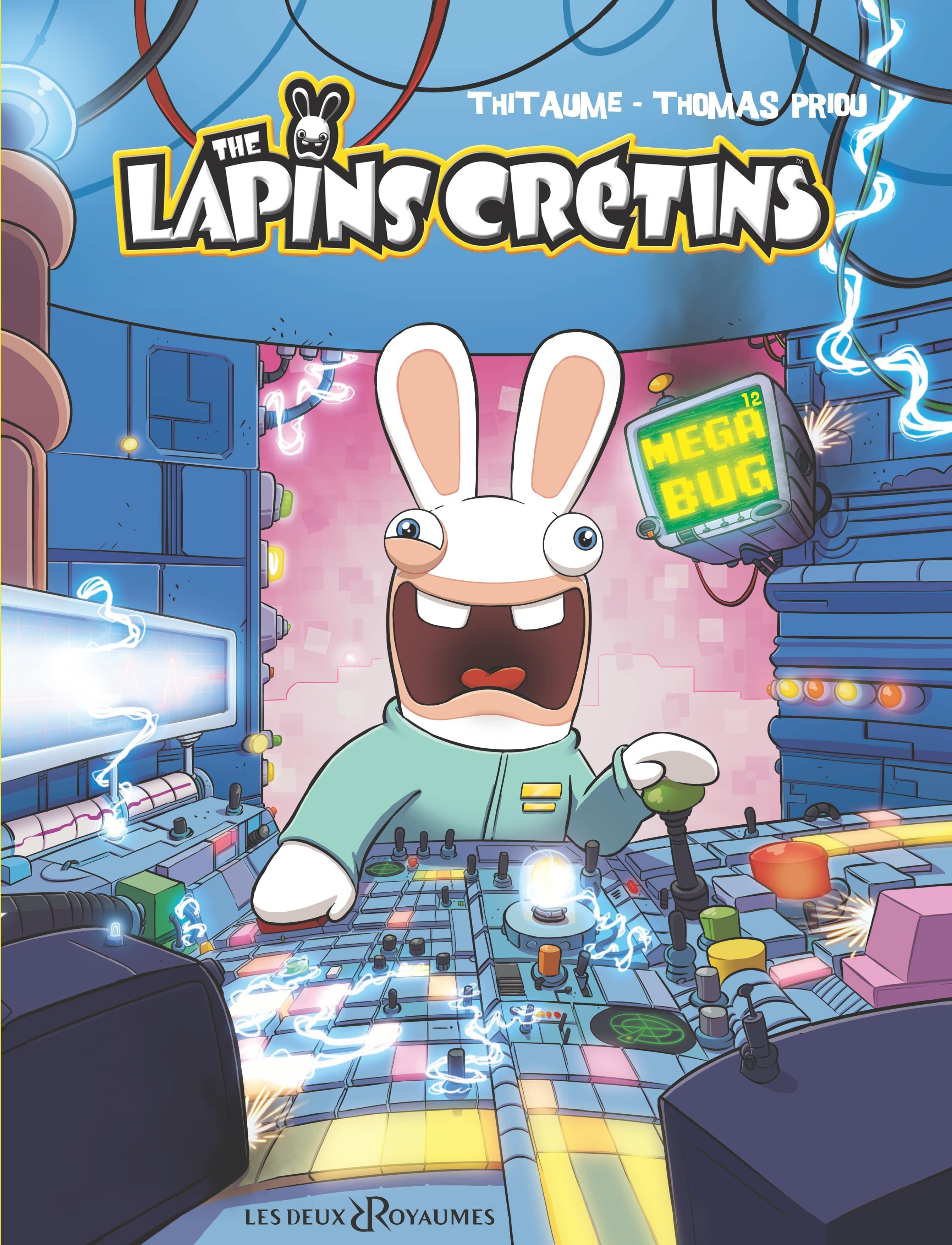 THE LAPINS CRETINS - TOME 12 - MEGA BUG