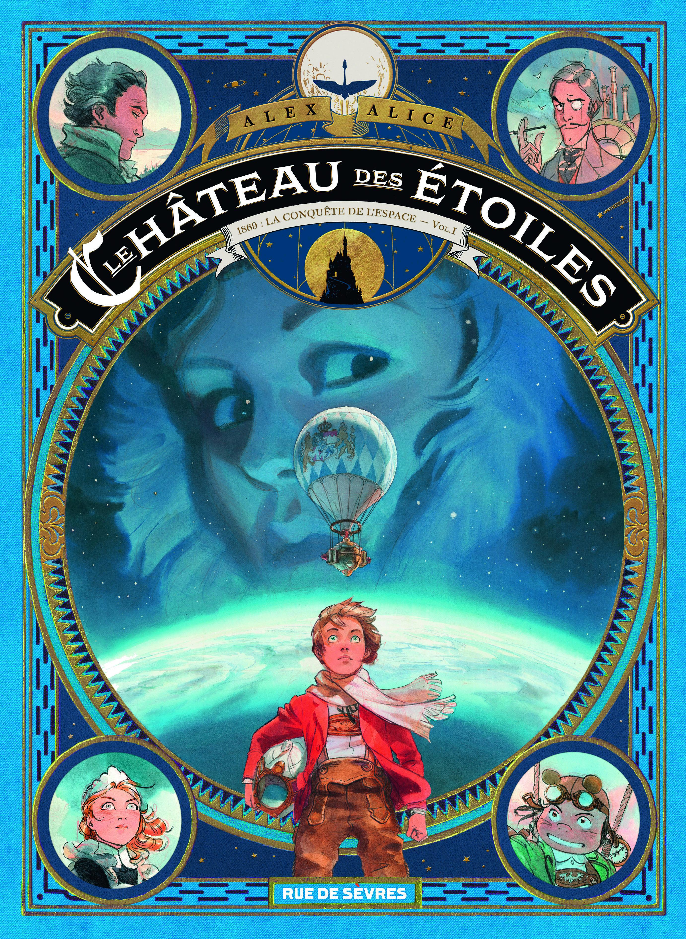 LE CHATEAU DES ETOILES TOME 1 (1 ERE PARTIE) - LA CONQUETE DE L'ESPACE