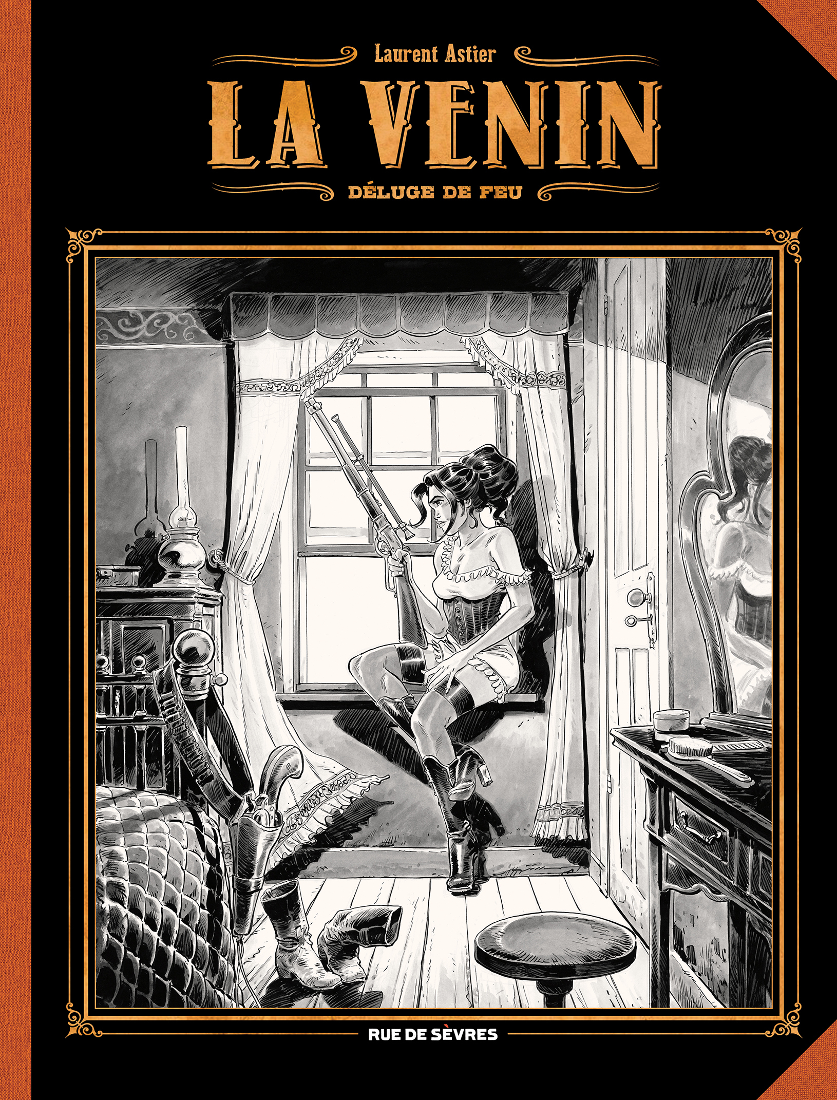 VENIN T1 DELUGE DE FEU GRAND FORMAT NOIR ET BLANC (LA)