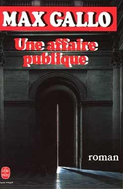 UNE AFFAIRE PUBLIQUE