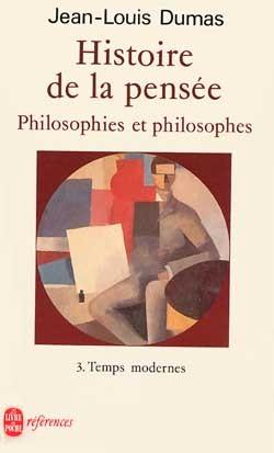 HISTOIRE DE LA PENSEE (TOME 3)