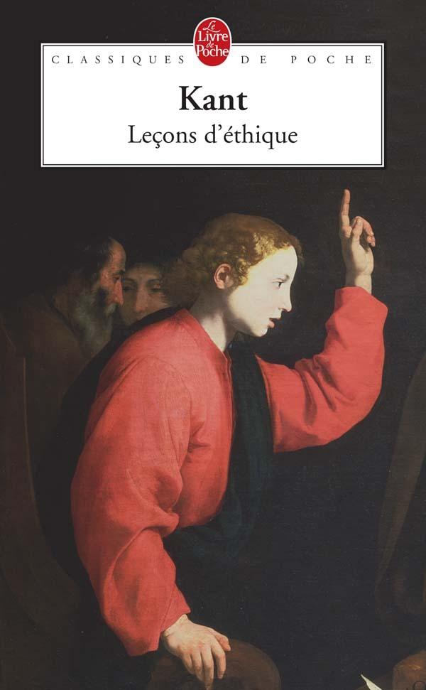 LECONS D'ETHIQUE