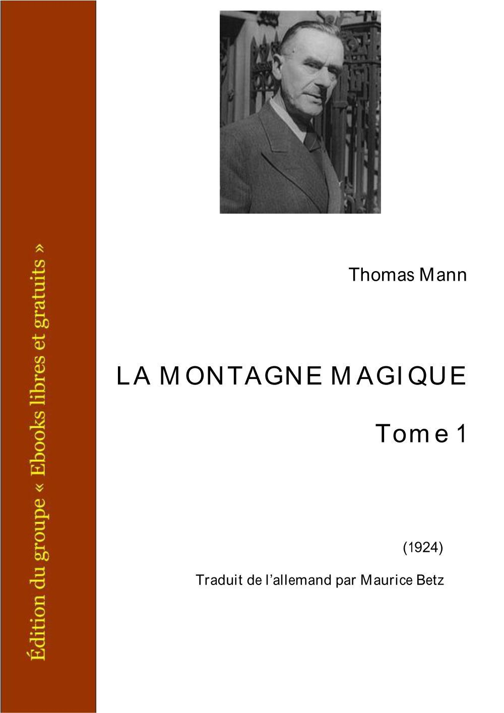 LA MONTAGNE MAGIQUE
