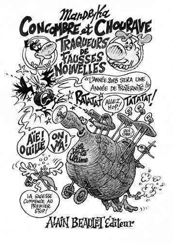 CONCOMBRE ET CHOURAVE - TRAQUEURS DE FAUSSES NOUVELLES !