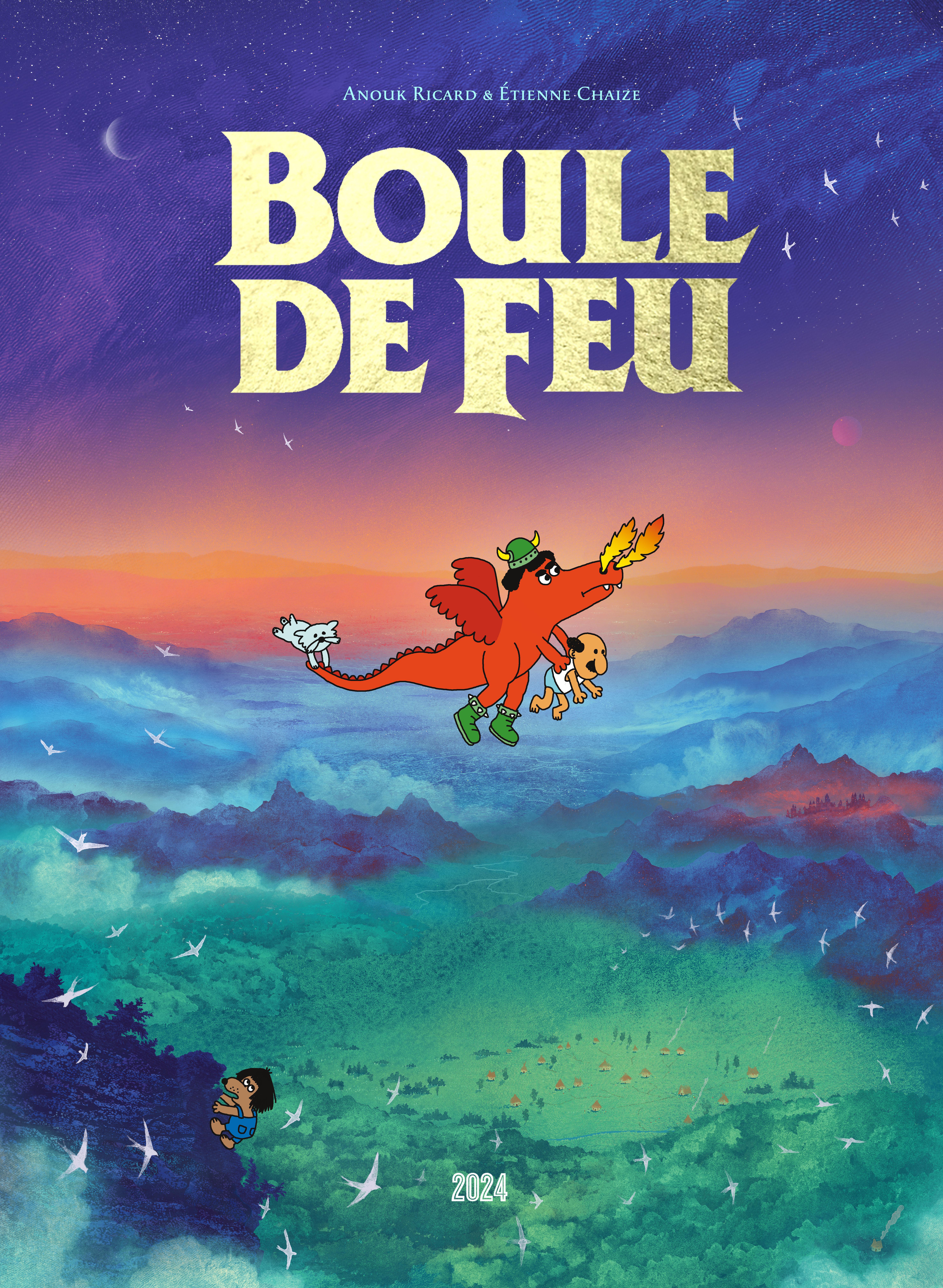 BOULE DE FEU