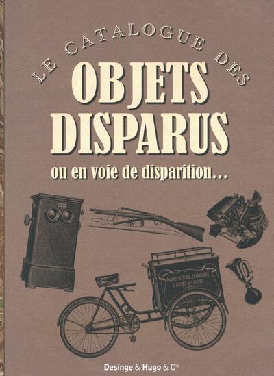 CATALOGUE DES OBJETS DISPARUS