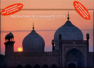 L'AGENDA-CALENDRIER PATRIMOINE DE L'HUMANITE 2013
