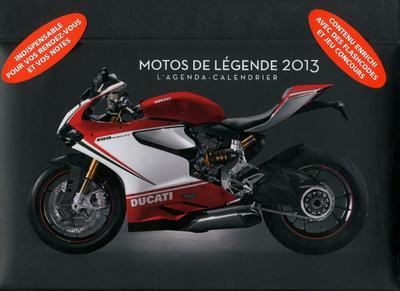 L'AGENDA-CALENDRIER MOTOS DE LEGENDE 2013