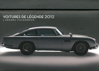 AGENDA CALENDRIER VOITURES DE LEGENDE 2012