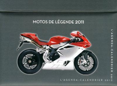 AGENDA-CAL MOTOS LEGENDE 2011