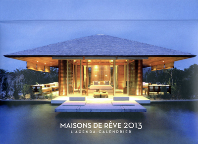 L'AGENDA-CALENDRIER MAISONS DE REVE 2013