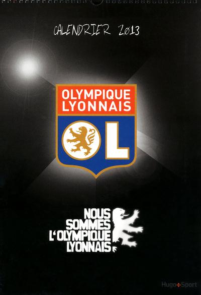 CALENDRIER MURAL OLYMPIQUE LYONNAIS 2013