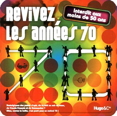 BOITE REVIVEZ LES ANNEES 70 - INTERDIT AUX MOINS DE 50 ANS