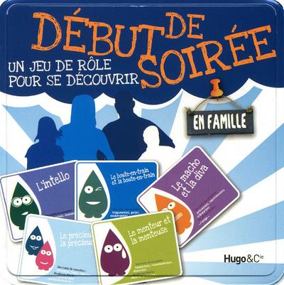 DEBUT DE SOIREE UN JEU DE ROLE POUR SE DECOUVRIR EN FAMILLE