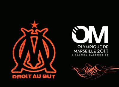 L'AGENDA-CALENDRIER OLYMPIQUE DE MARSEILLE 2013