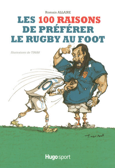 100 RAISONS PREFER RUGBY FOOT