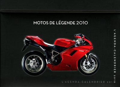 AGENDA-CAL MOTOS LEGENDE 2010