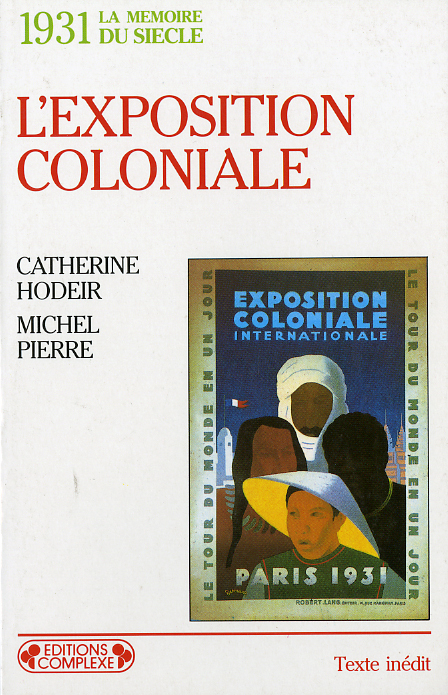 1931  L'EXPOSITION COLONIALE
