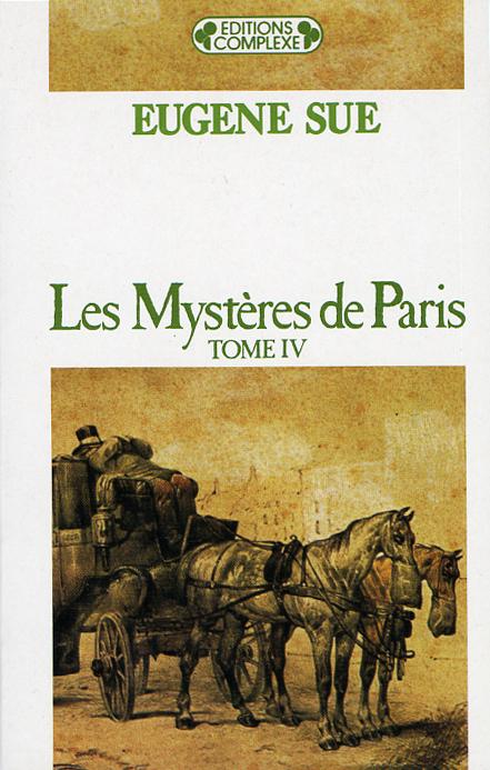 MYSTERES DE PARIS  TOME 4