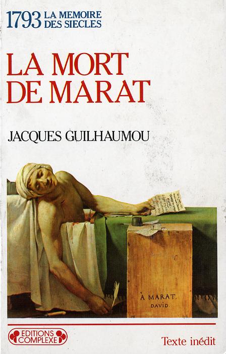 1793 LA MORT DE MARAT