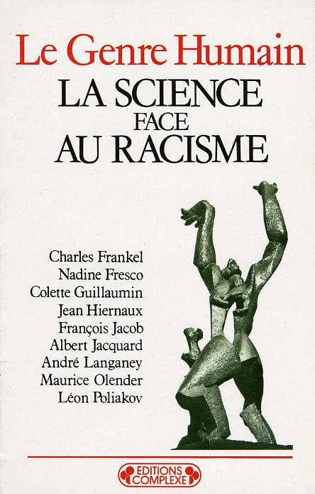 LA SCIENCE FACE AU RACISME