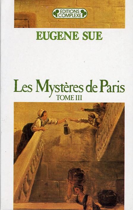 MYSTERES DE PARIS  TOME 3