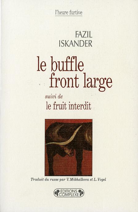 LE BUFFLE FRONT LARGE