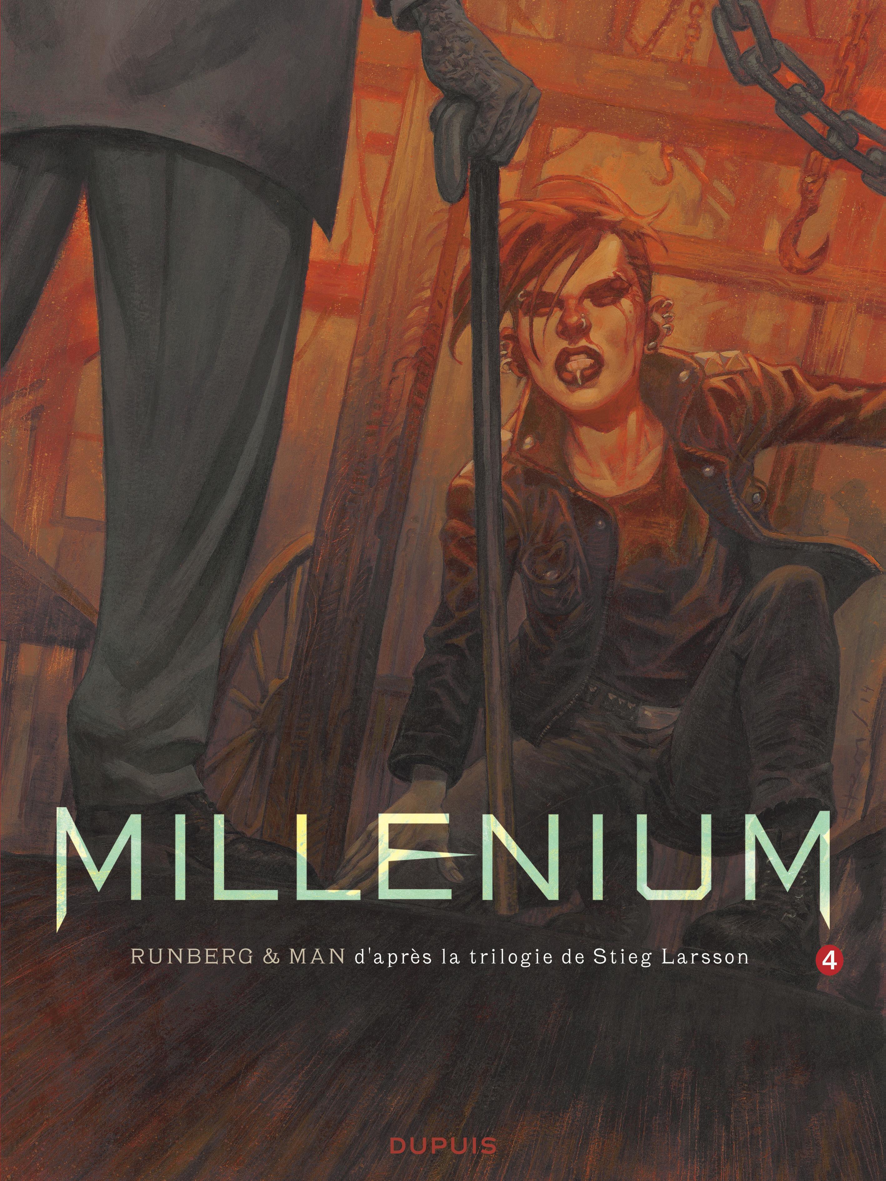 MILLENIUM - TOME 4 - MILLENIUM 4