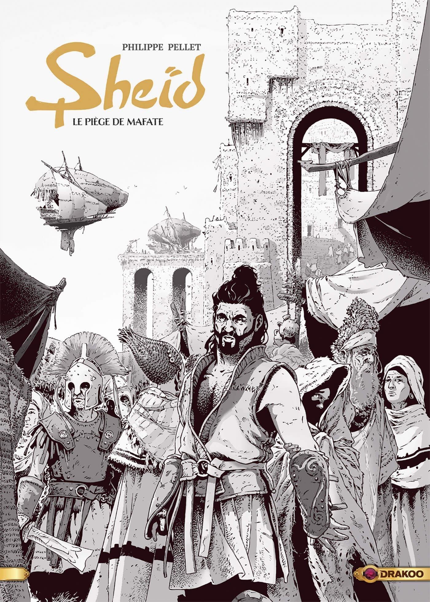 SHEID - VOLUME 01 - NOIR ET BLANC - LE PIEGE DE MAFATE