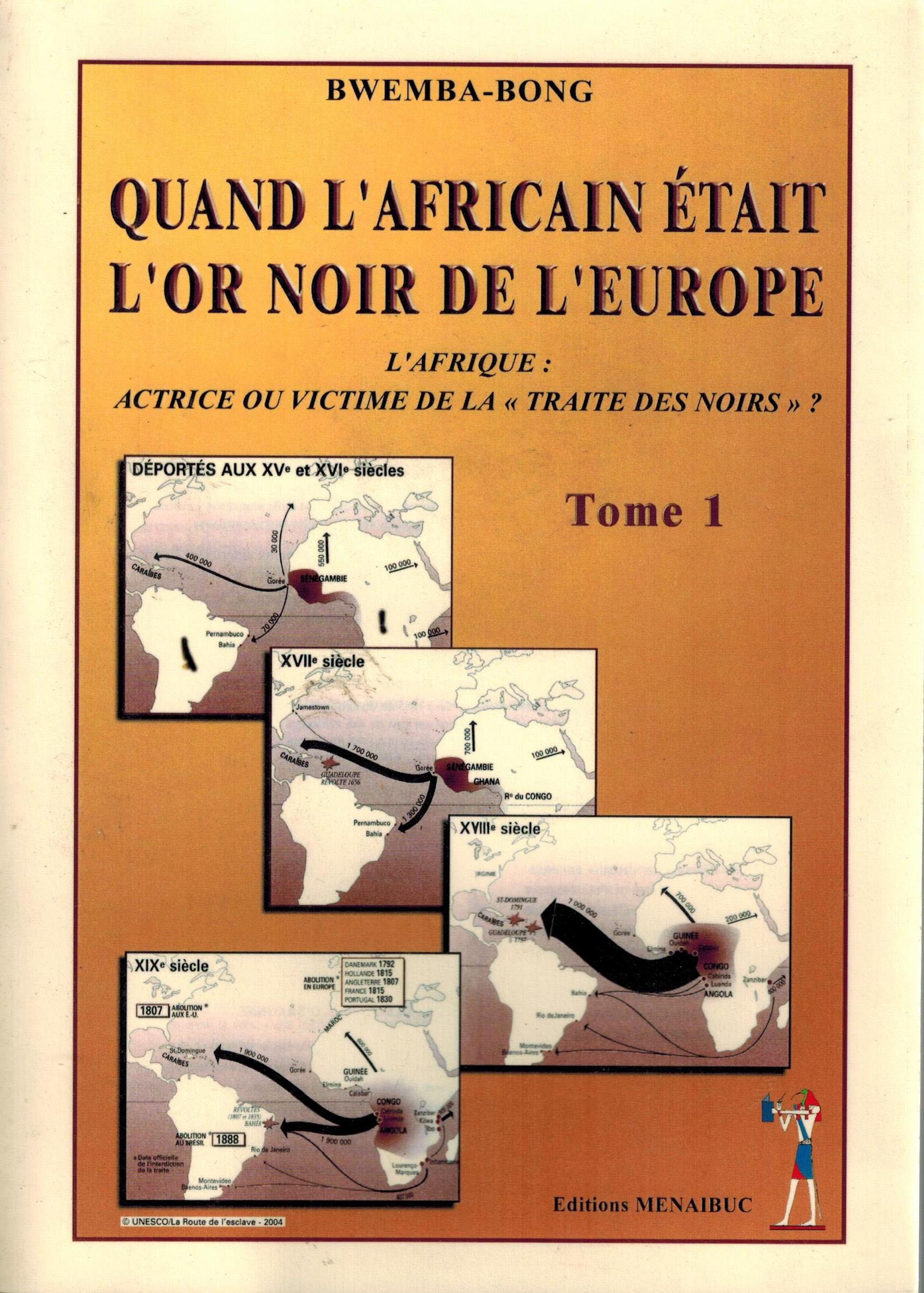 QUAND L'AFRICAIN ETAIT L'OR NO