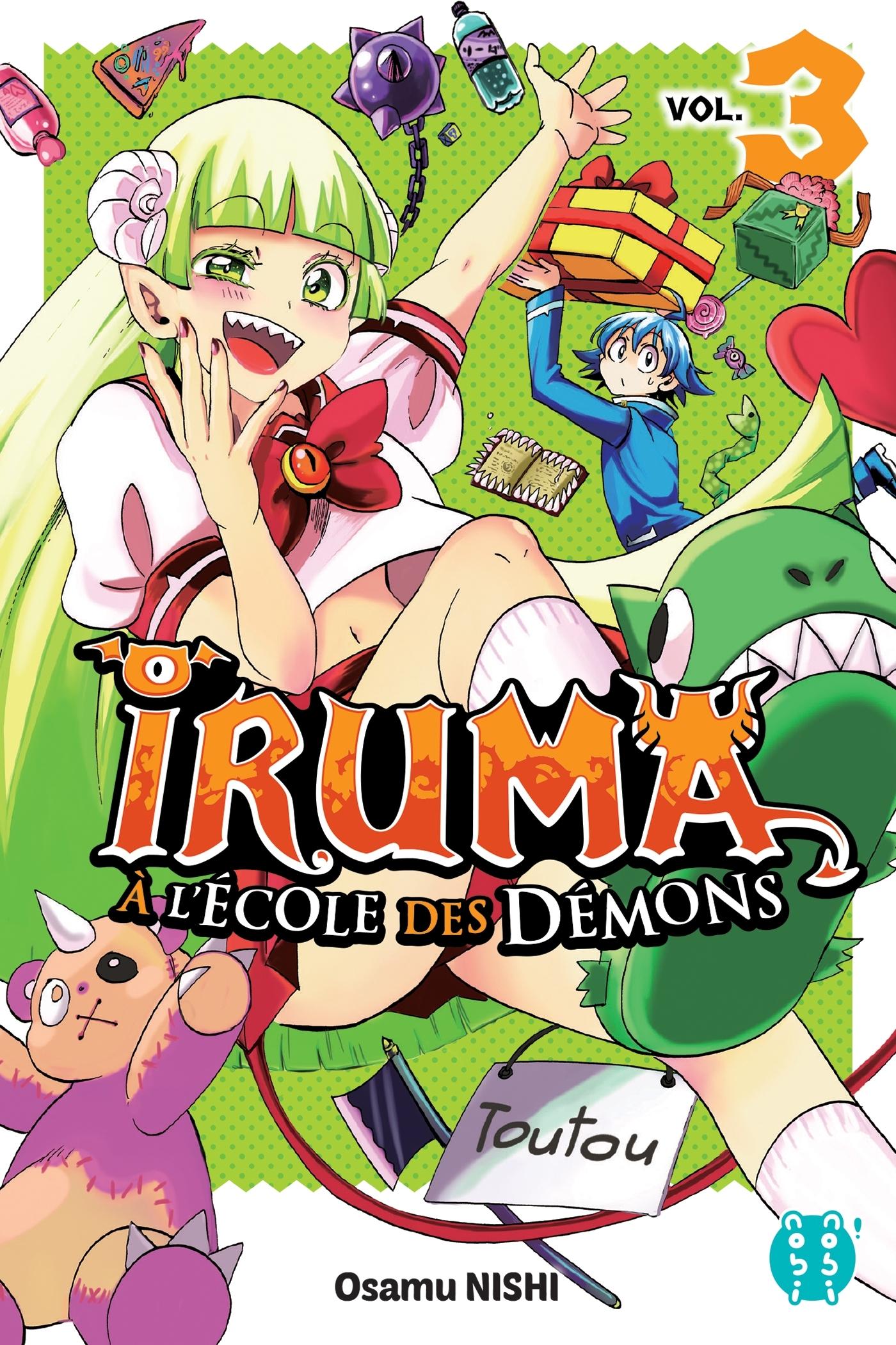 IRUMA A L'ECOLE DES DEMONS T03