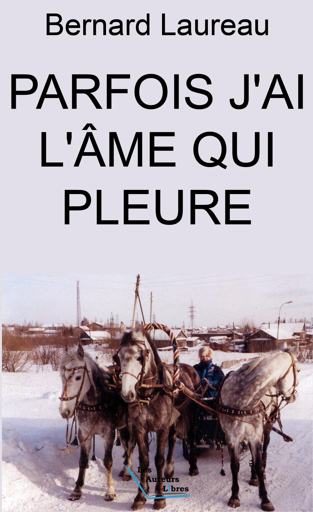 PARFOIS J'AI L'AME QUI PLEURE