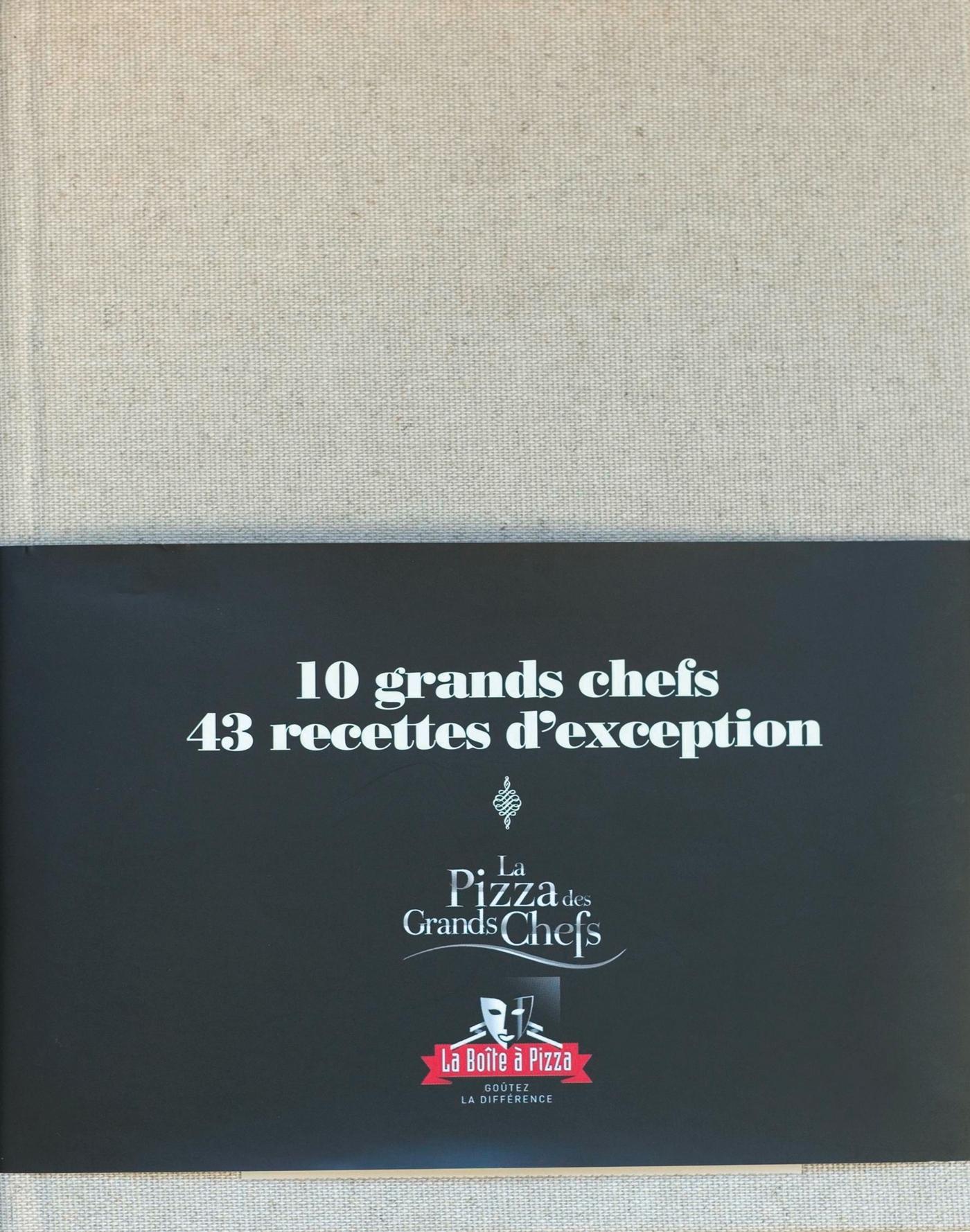 PIZZAS DES GRANDS CHEFS