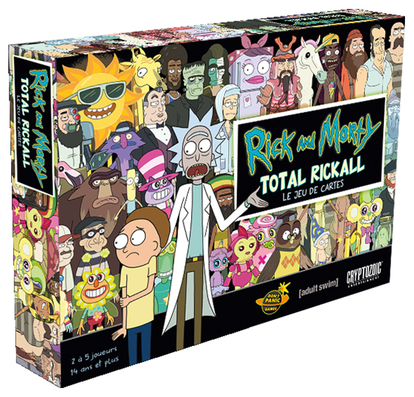 RICK AND MORTY - TOTAL RICKALL