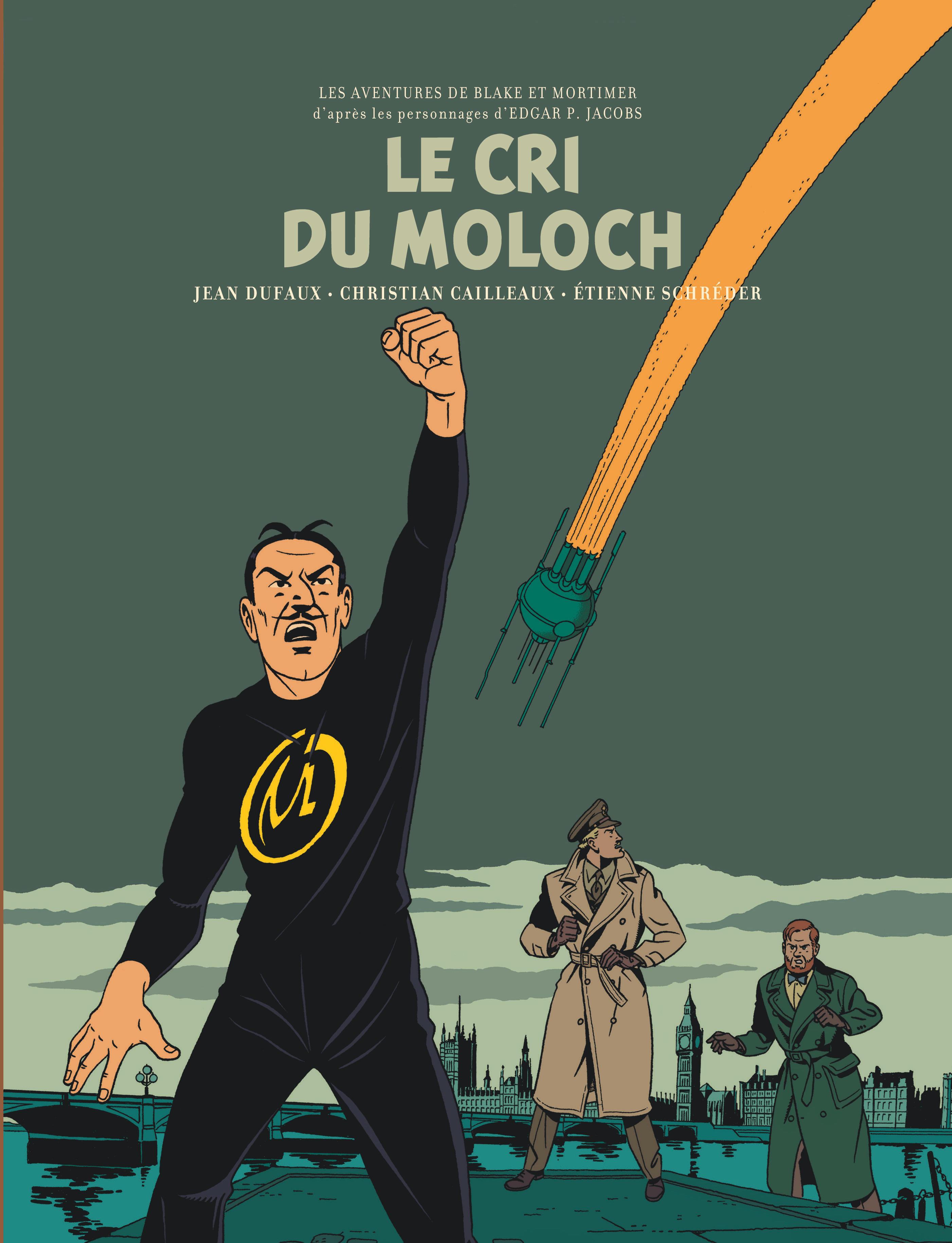 BLAKE & MORTIMER - TOME 27 - LE CRI DU MOLOCH / EDITION SPECIALE, BIBLIOPHILE