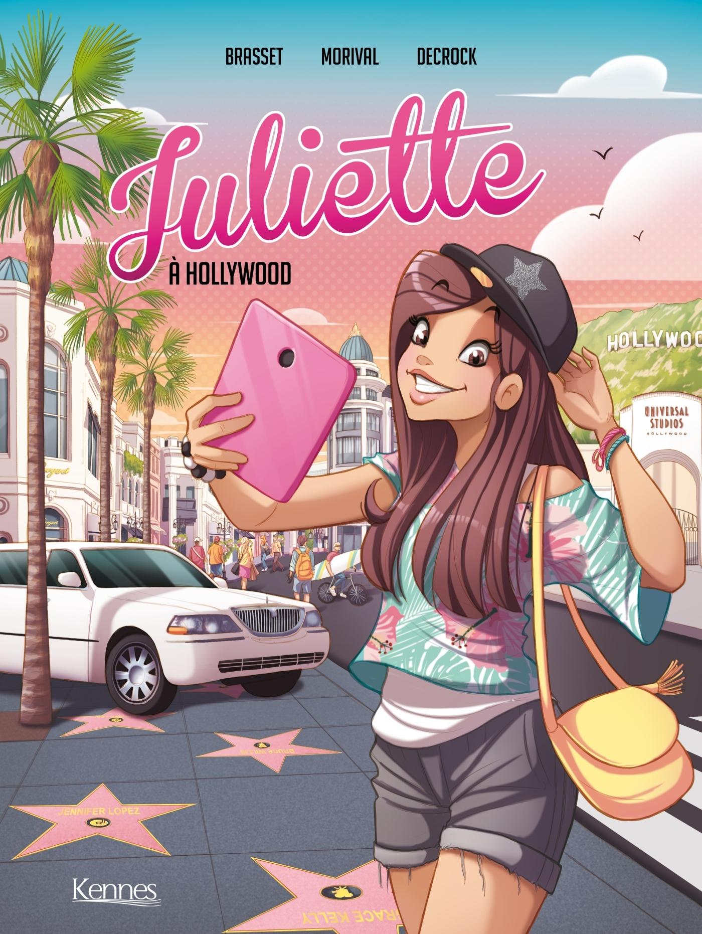 JULIETTE EN BD - JULIETTE A HOLLYWOOD BD T04