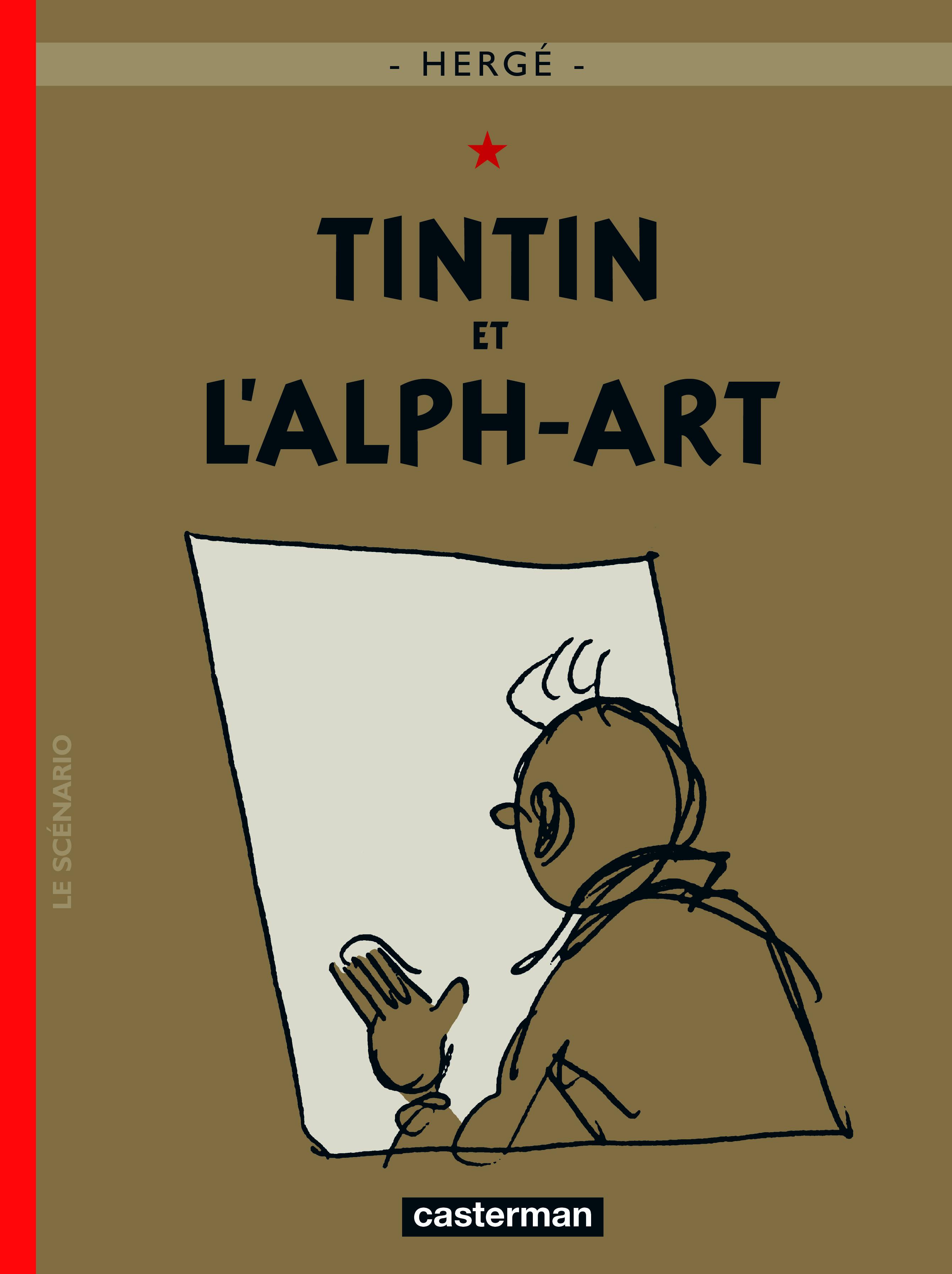 TINTIN - T24 - TINTIN ET L'ALPH-ART