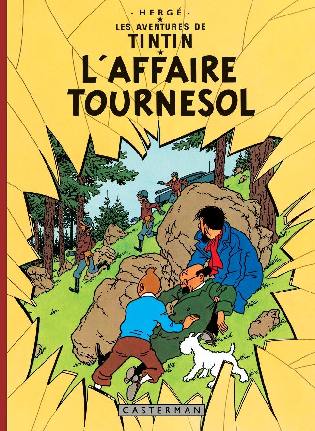 L' AFFAIRE TOURNESOL - LES FAC-SIMILES COULEURS - T18