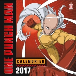 CALENDRIER ONE PUNCH MAN 2017