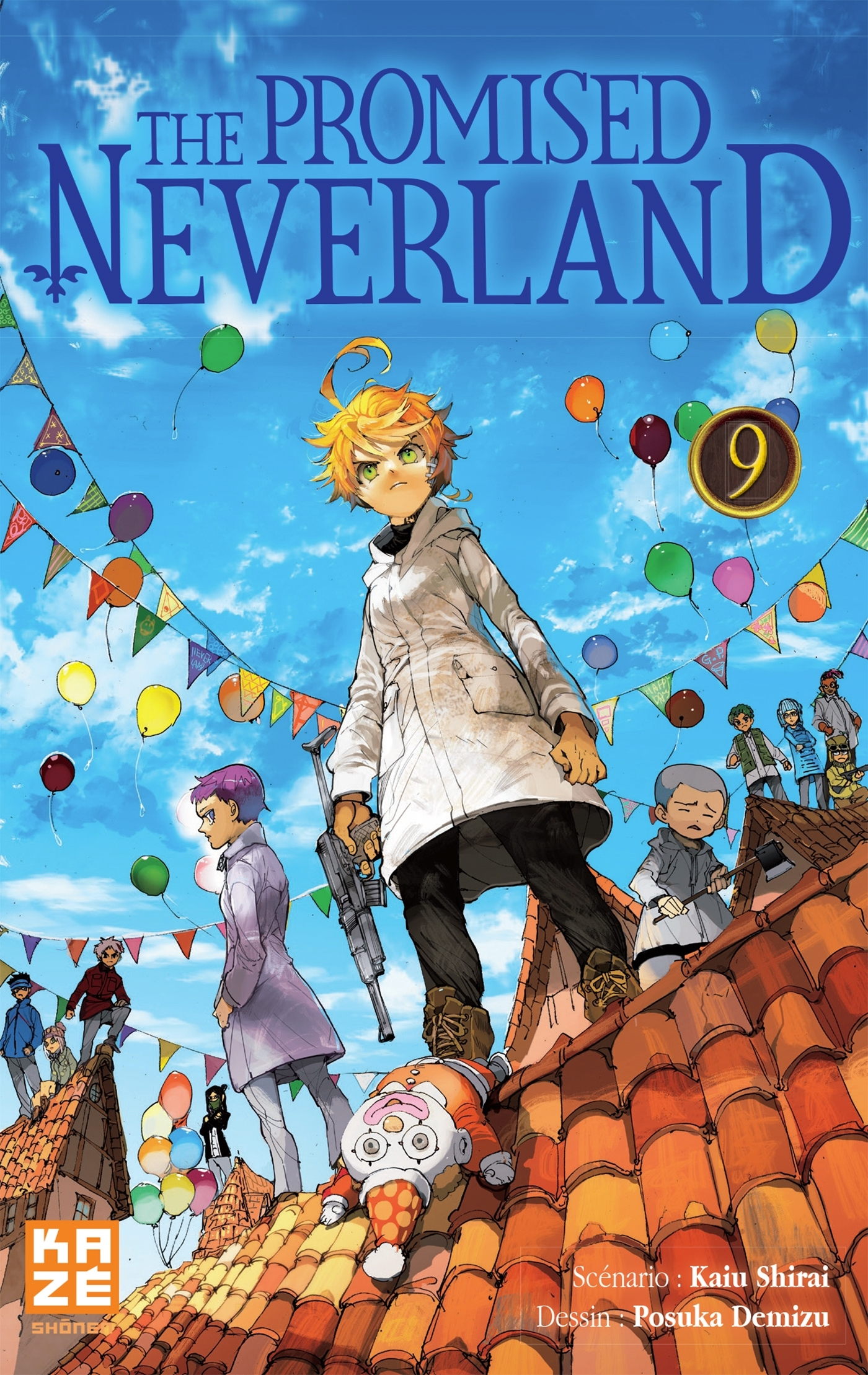 THE PROMISED NEVERLAND T09