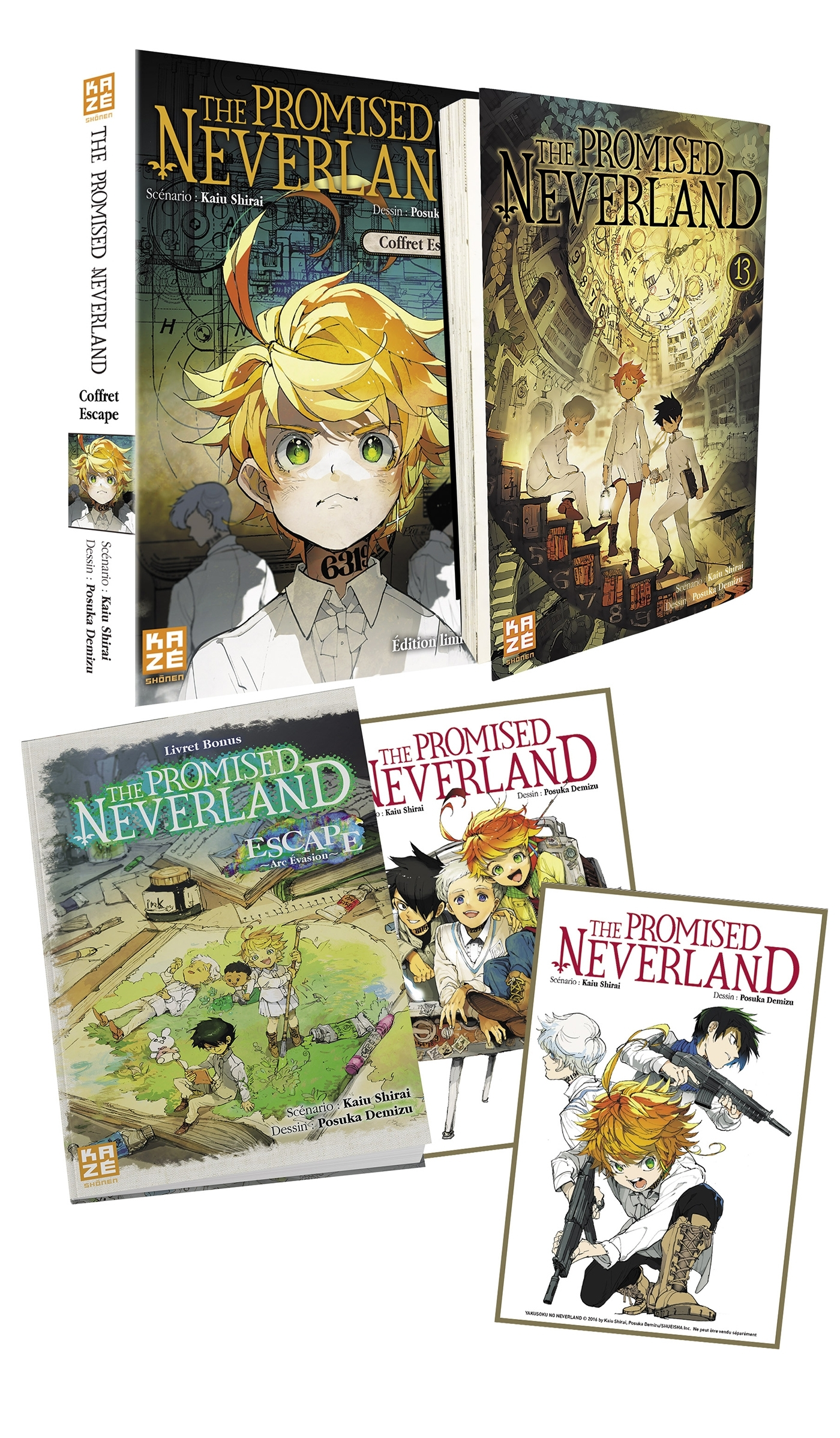THE PROMISED NEVERLAND COFFRET ESCAPE T13