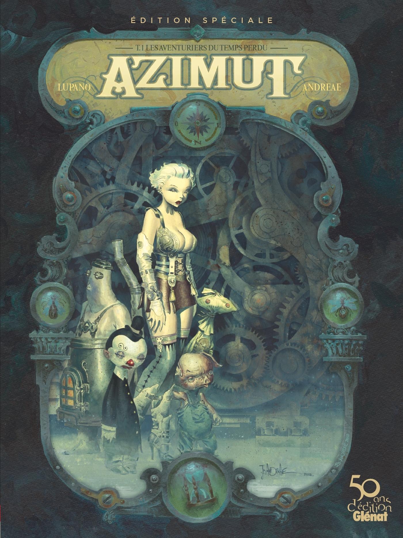 AZIMUT - TOME 01 - EDITION SPECIALE 50 ANS - LES AVENTURIERS DU TEMPS PERDU