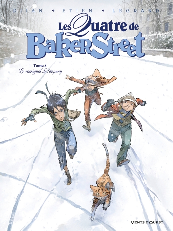 LES QUATRE DE BAKER STREET - TOME 03 - LE ROSSIGNOL DE STEPNEY